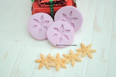 Natale Stampo fimo stella di Natale- ST058 Biscotto- Orecchini Fimo Gioielli handmade-Natale,Bianco Natale,kawaii,Cabochon