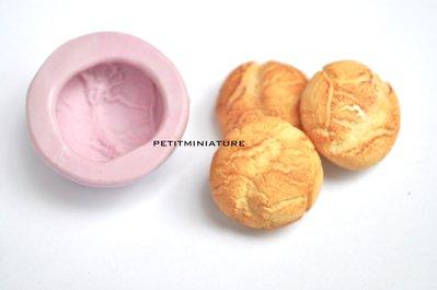 STAMPO per fimo pane italiano ST042 in silicone flessibile, stampo pane dollhouse,baguette,pane pugliese,pane ferrarese,negozio panificio