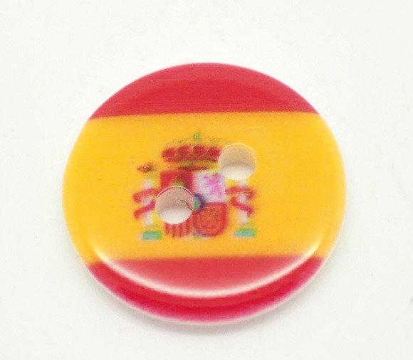 Set 10 bottoni - Spagna
