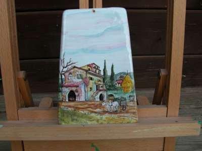toscana firenze tegola ceramica