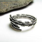 Anello in acciaio inossidabile per uomo, anello unisex, gioiello uomo, gioiello donna - Stainless Steel ring III