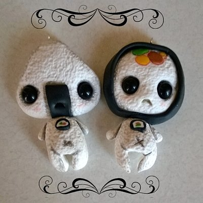 Mr.Onigiri & Mr.Sushi