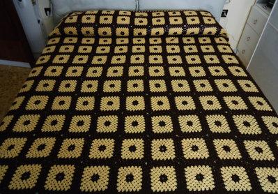 Coperta matrimoniale in lana