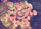 Confetti decorati per diverse occasioni
