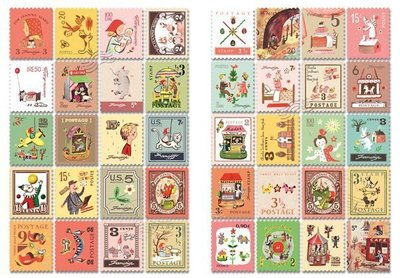 Mix 80 francobolli - Postage