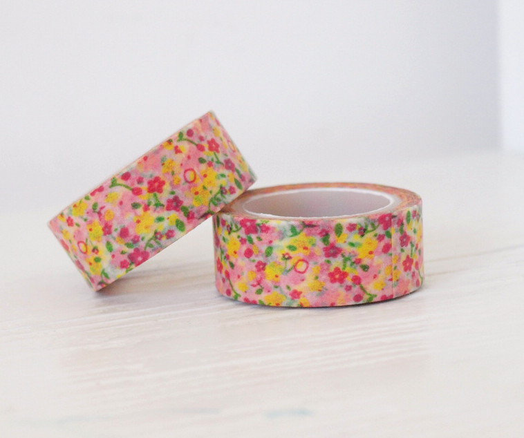 Washi Tape - Flower