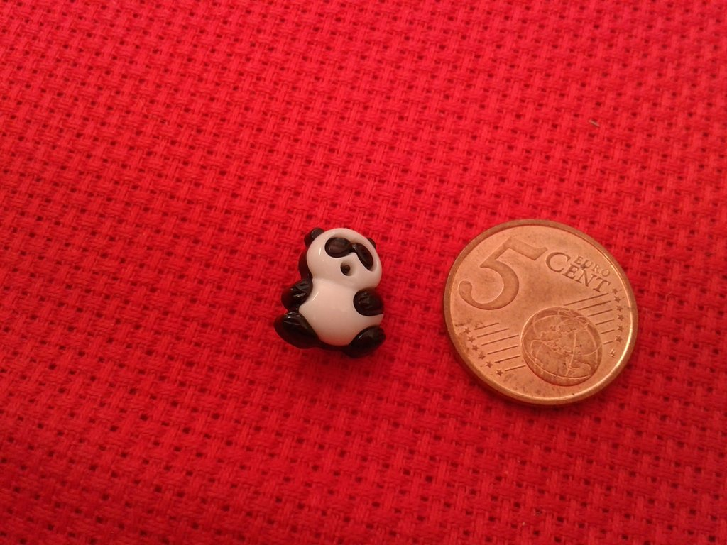"Bottone "" piccolo panda"""