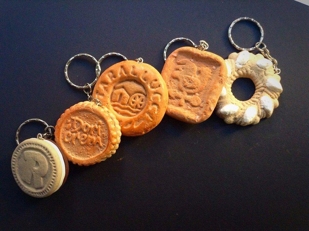 Portachiavi biscotti