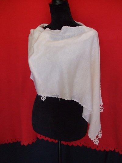 sciarpa donna stola lana scialle cotone maglia