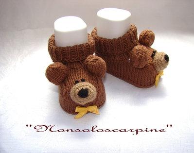 """Le scarpine """"L'orso Yogi"""""""