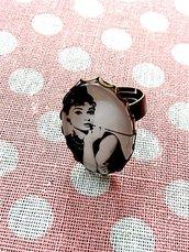 Anello ovale Vintage Audrey Hepburn