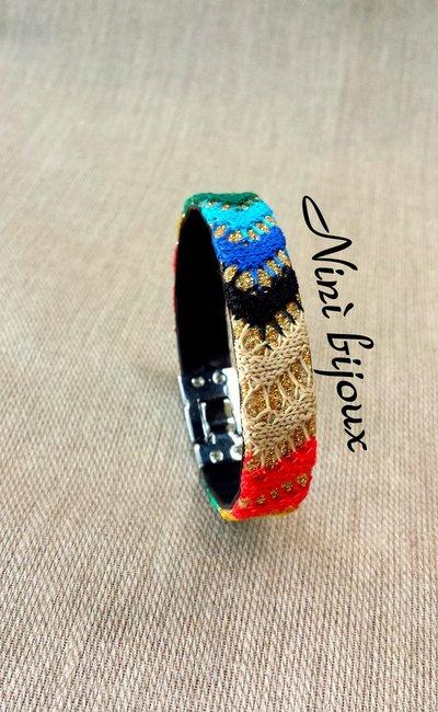 Bracciale estate colori multicolore
