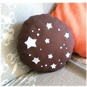 Cuscino goloso pan di stelle