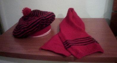 Basco e sciarpa