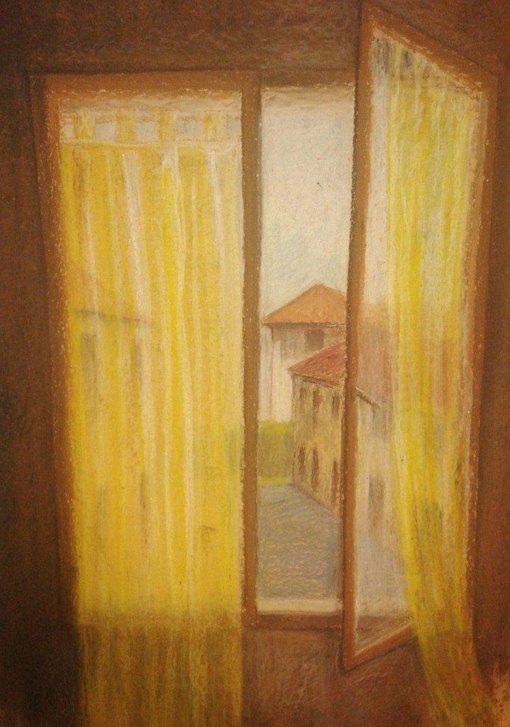 Quadro con finestra