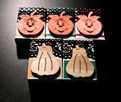 Scatoline decorate Zucca di Halloween^^ Dolcetto o Scherzetto!!! - Packaging & Scrap - Lotto (5pz)