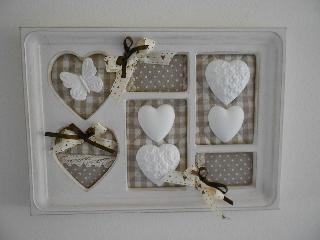 Quadretti shabby chic fai da te beautiful beautiful vasetti