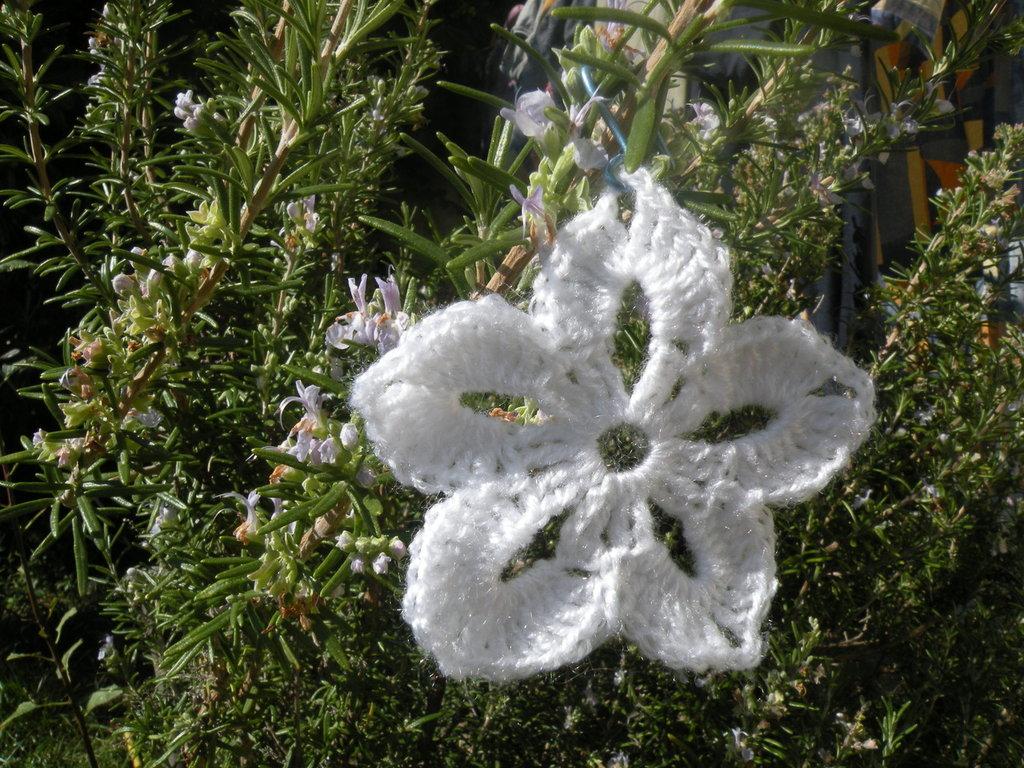 decorazione natale addobbi fiocco di neve