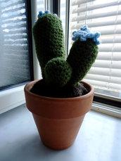 Piantina Cactus all'uncinetto