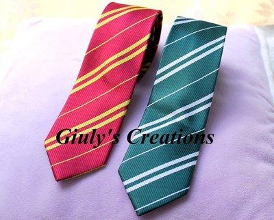 Cravatte delle case di Grifondoro e Serpeverde