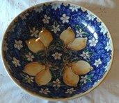 Ciotola / Spaghettiera / Insalatiera in ceramica dipinta a mano.Dec Limoni