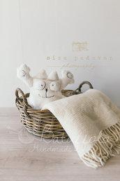 Cappellino Gatto neonati in morbido peluche