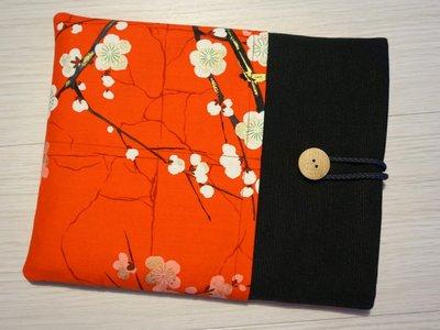 custodia Fiori giapponesi per tablet o ebook reader - comunicaci il modello del tuo tablet e realizzeremo la custodia su misura!!!