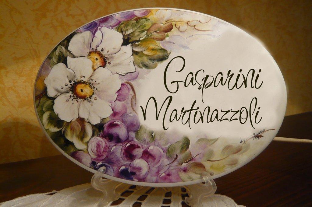 targhe - piastre DIPINTE A MANO in ceramica