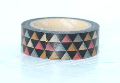 Washi Tape - Black Diamonds