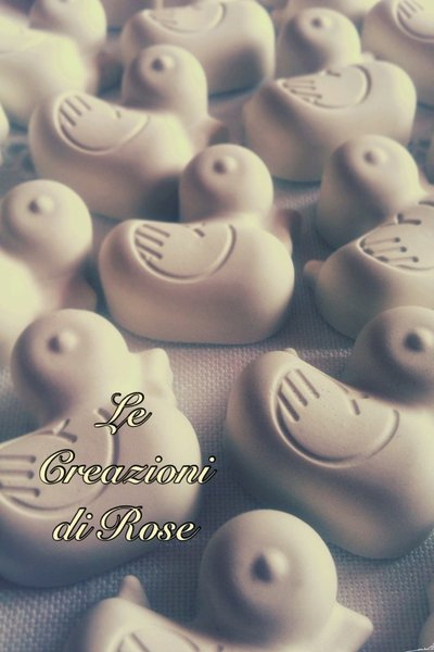 50 pezzi Gessi gessetti profumati bomboniera segnaposto nascita battesimo compleanno