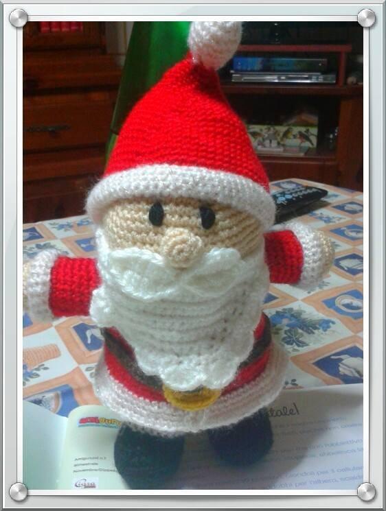 Babbo Natale all'uncinetto