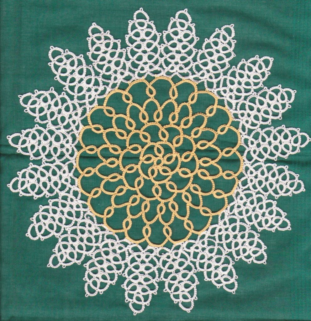 CHIACCHIERINO - TATTING - FRIVOLITE' - MARGHERITA