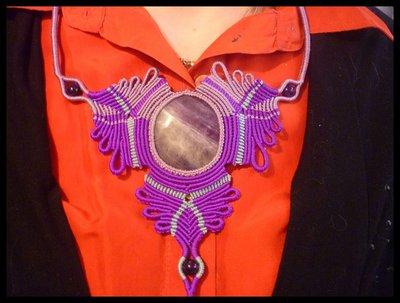 Collana Ciocca con Fluorite