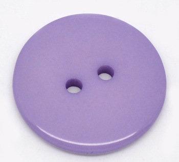 Set 10 bottoni 23 mm - Viola