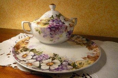 centrotavola DIPINTO A MANO in ceramica