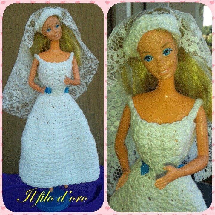 Barbie abito da sposa