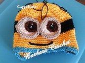 Cappellino baby fatto a mano