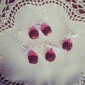 bracciale mini cupcake