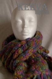 Sciarpa invernale adulto in lana