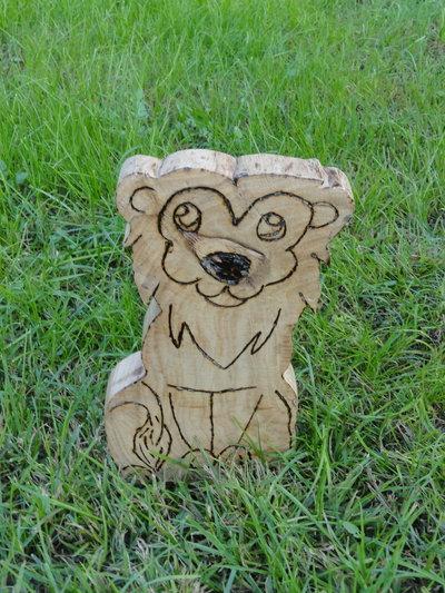 Leoncino in legno