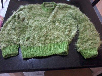 Maglione in lana setosa