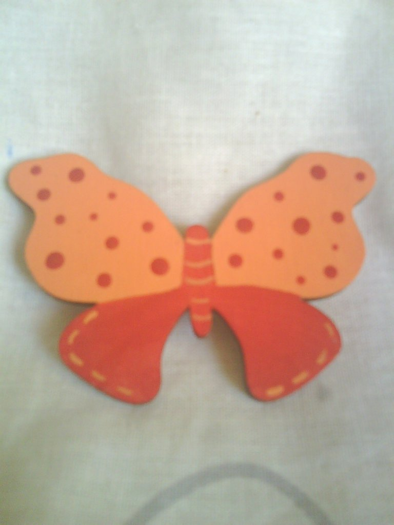 "Spilla ""Farfalla Arancione"""