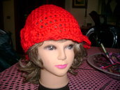 Cappello in lana lavorato a mano