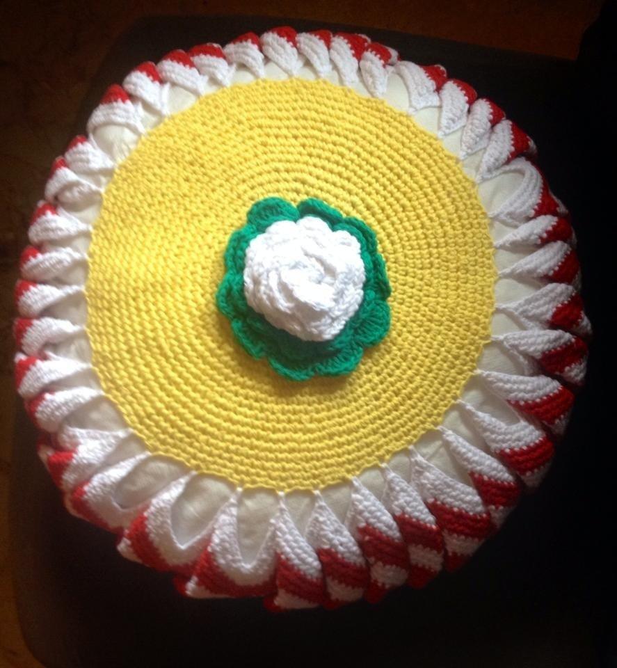 Cuscini decorativi al crochet