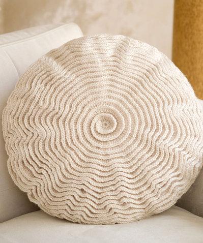 Cuscino decorativo uncinetto