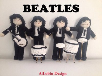 Amigurumi - Beatles collection
