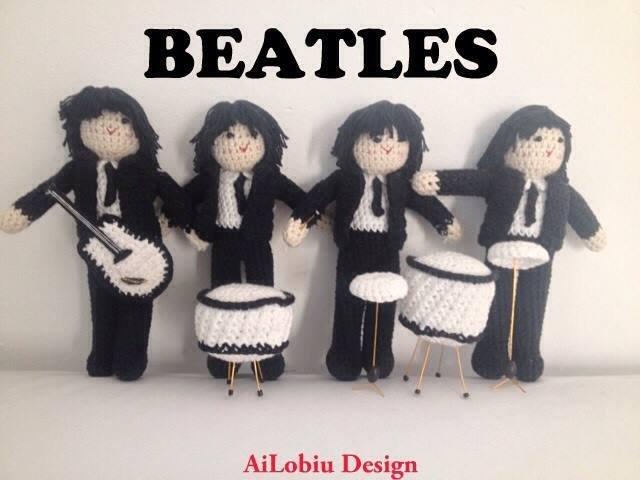 Amigurumi - Beatles collection