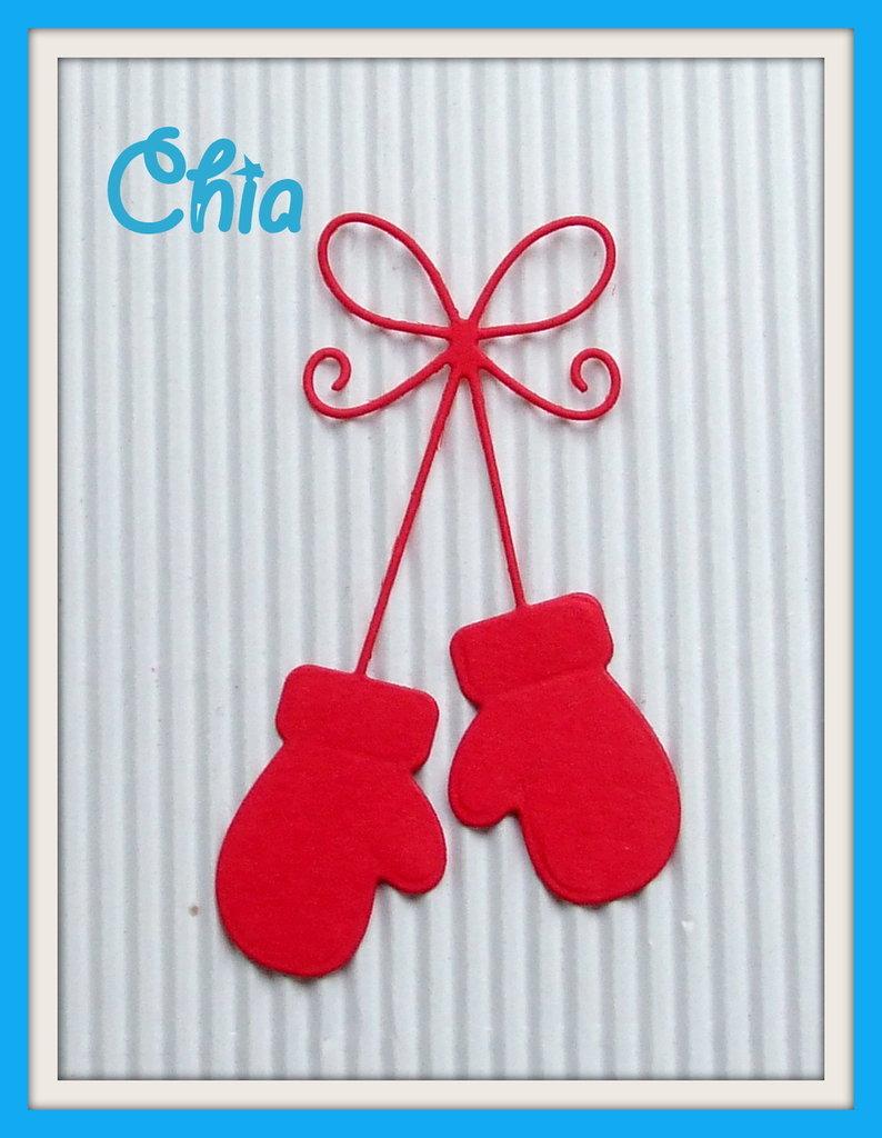 guanti fustellati 5 pz in cartoncino