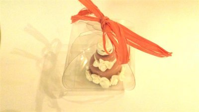 "MINI WEDDING CAKE - torta nuziale segnaposto bomboniera matrimonio FIMO - MODELLO  ""  ELIZABETH   """