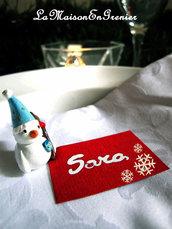6 segnaposto natalizi - i rossi-